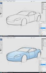Aston Martin DBS: wip1