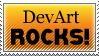 Stamp: DevArt ROCKS