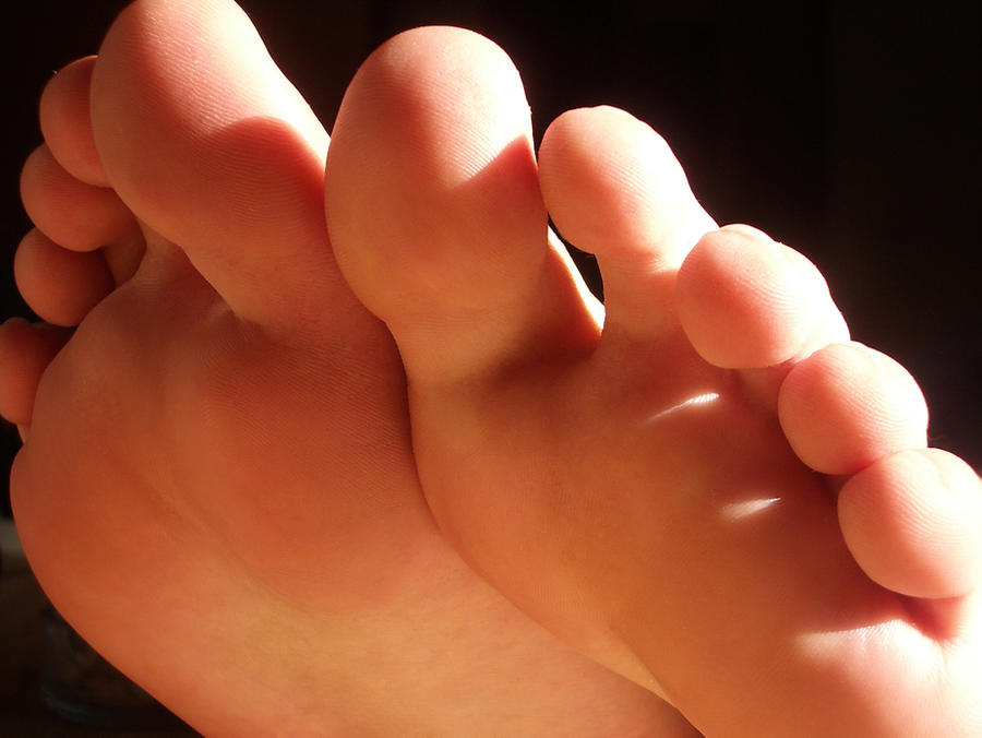 Feet and Sunlight