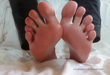 Another picture of my soles - Karina's Feet