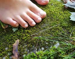 Karina's Feet - Touch it Barefoot