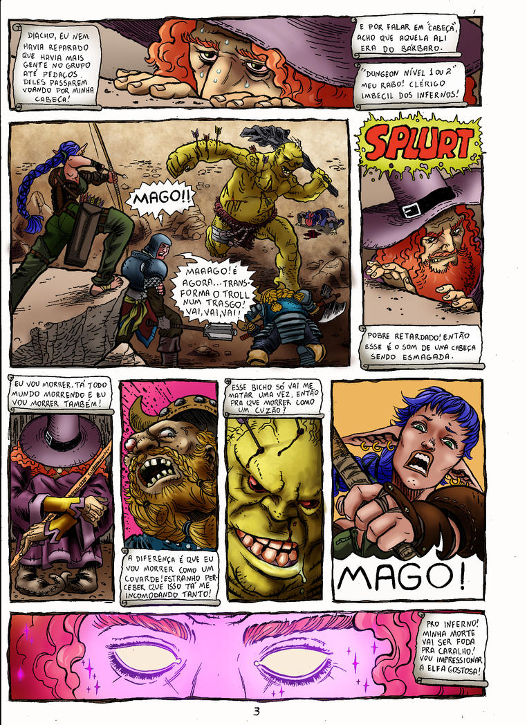 TheMage PG03 - By CaioOliveira / Colors PauloCE by PauloCE