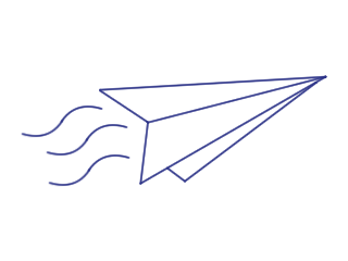 Airplane Note Logo by WhiteShoeQueen