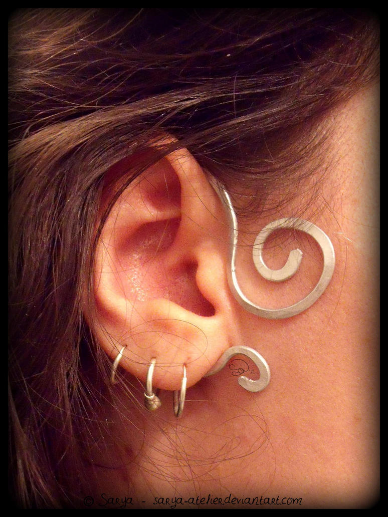 Tour d'Oreille - Ear Cuff by sarya-atelier
