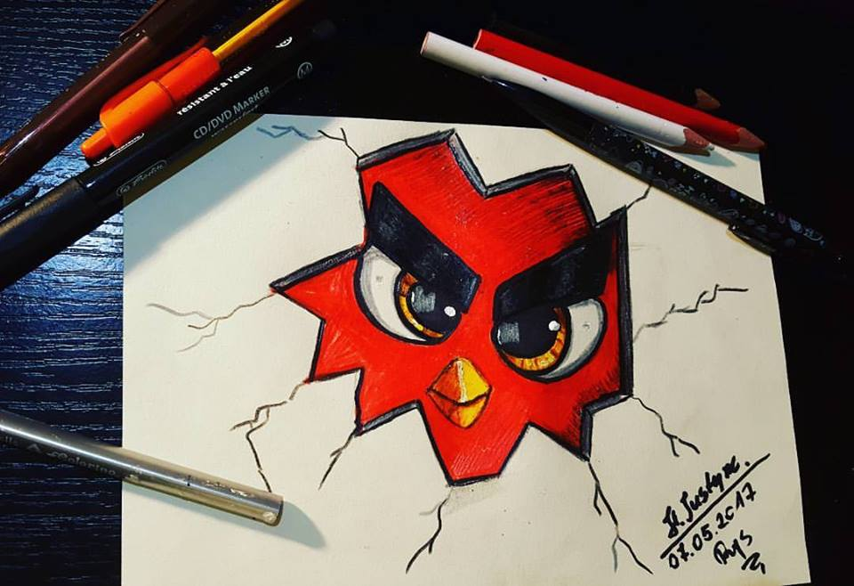 Angry Birds Movie by Hellocat22