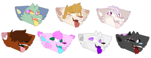 Happy Bleh YCH set by CrystalCalico