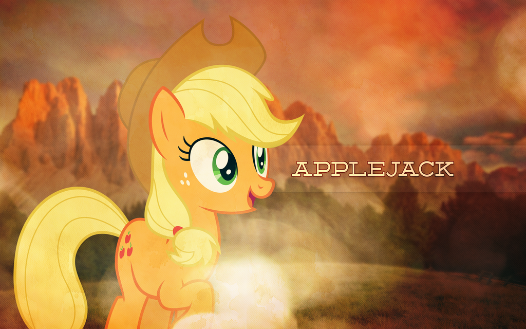 AppleJack Out West by Anaeo-vale