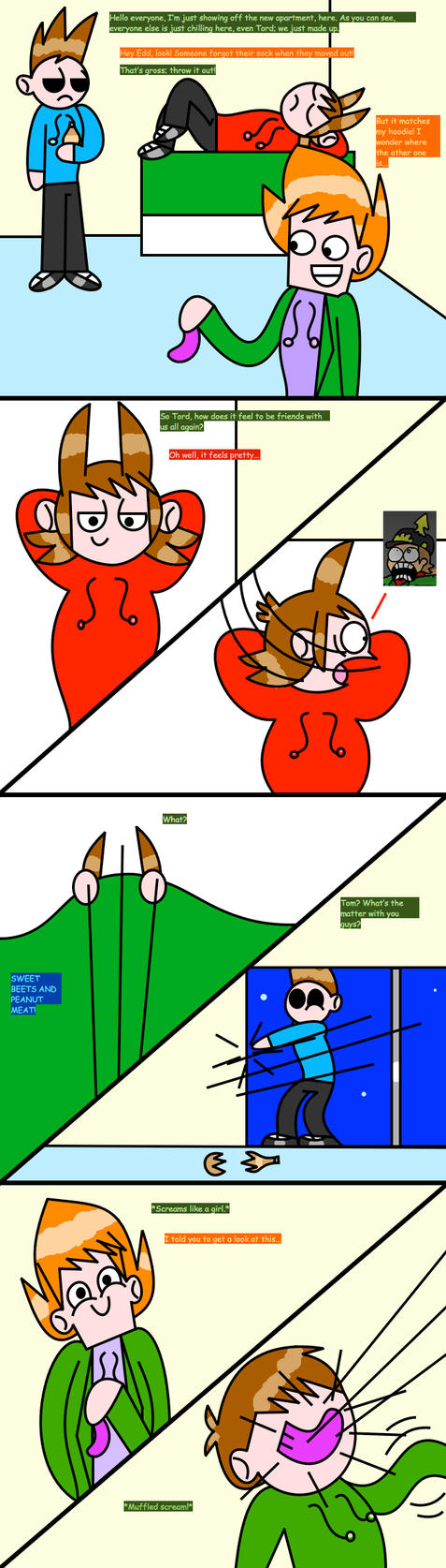 Eddsworld: Overreact Much? by creepypastajack