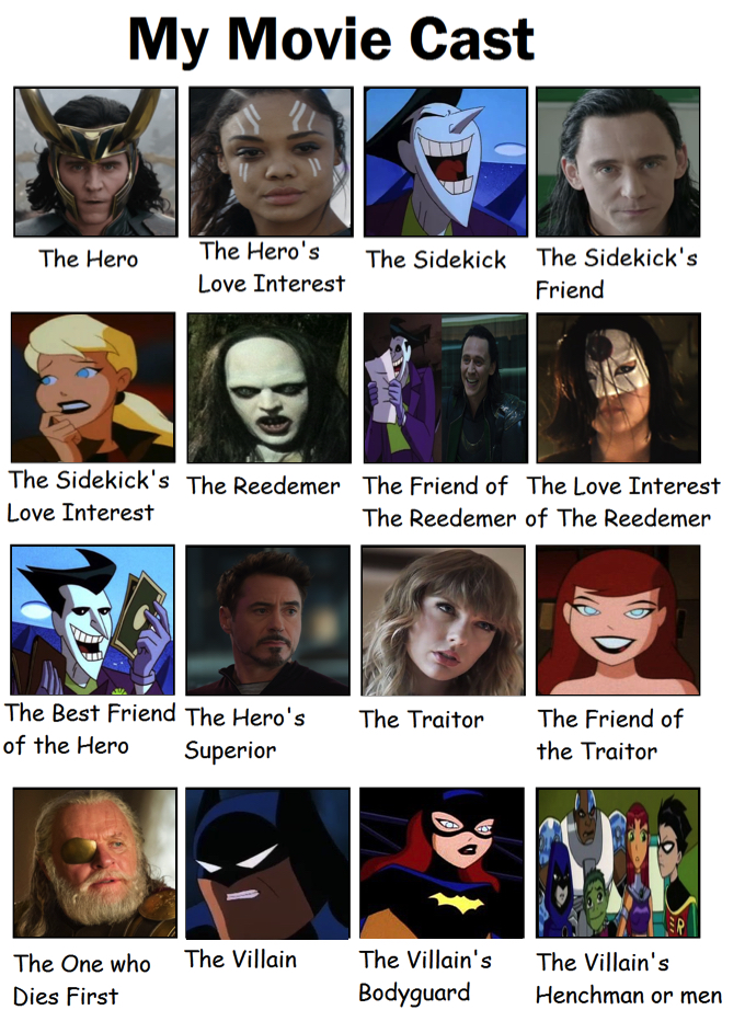 My Movie Cast For Joker and Loki  by creepypastajack on DeviantArt