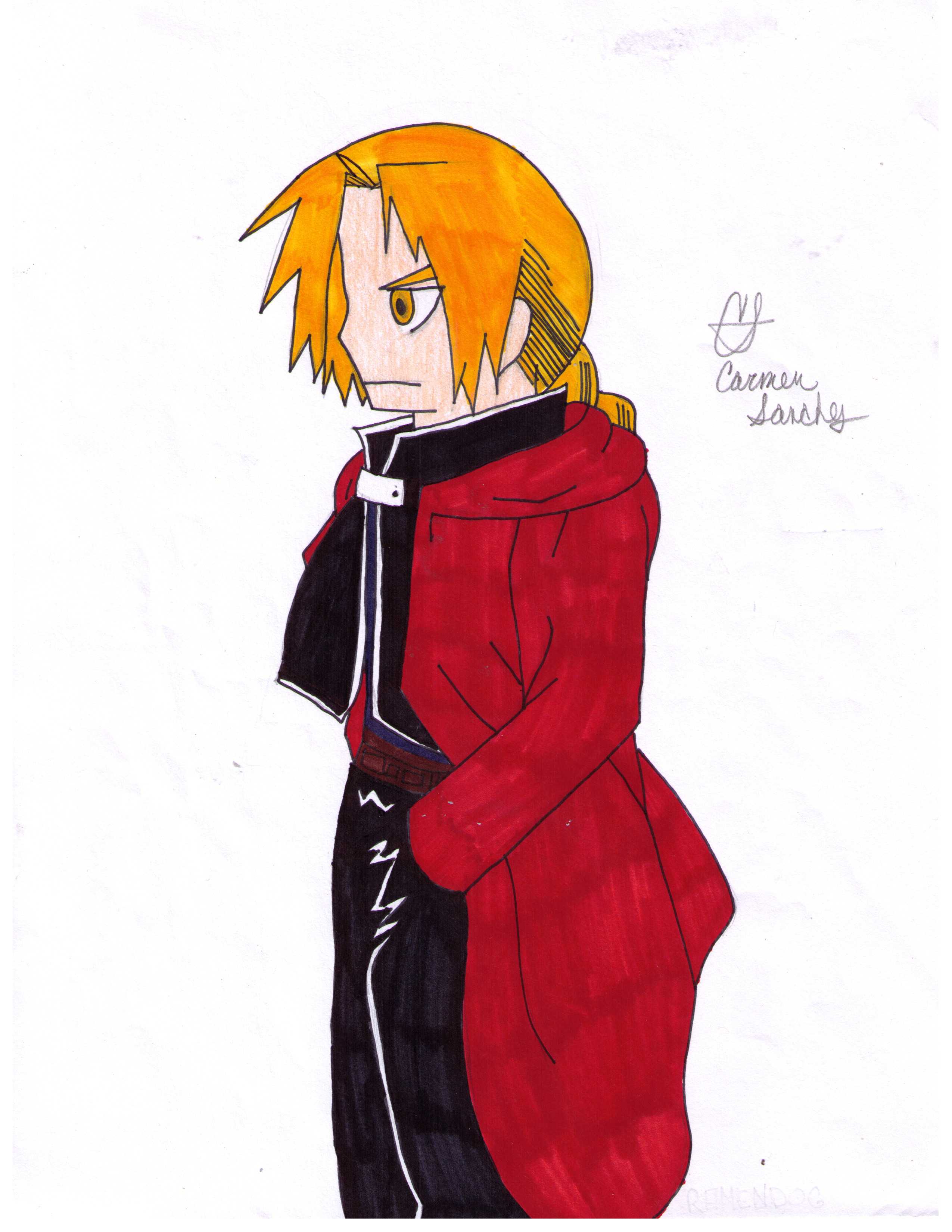Edward Elric by TeamMinato