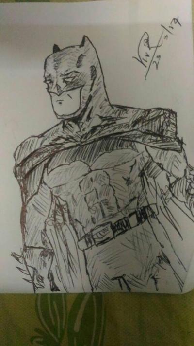 Batfleck by viv1dgr8