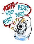 BIRD BIRD BIRD by fusspot