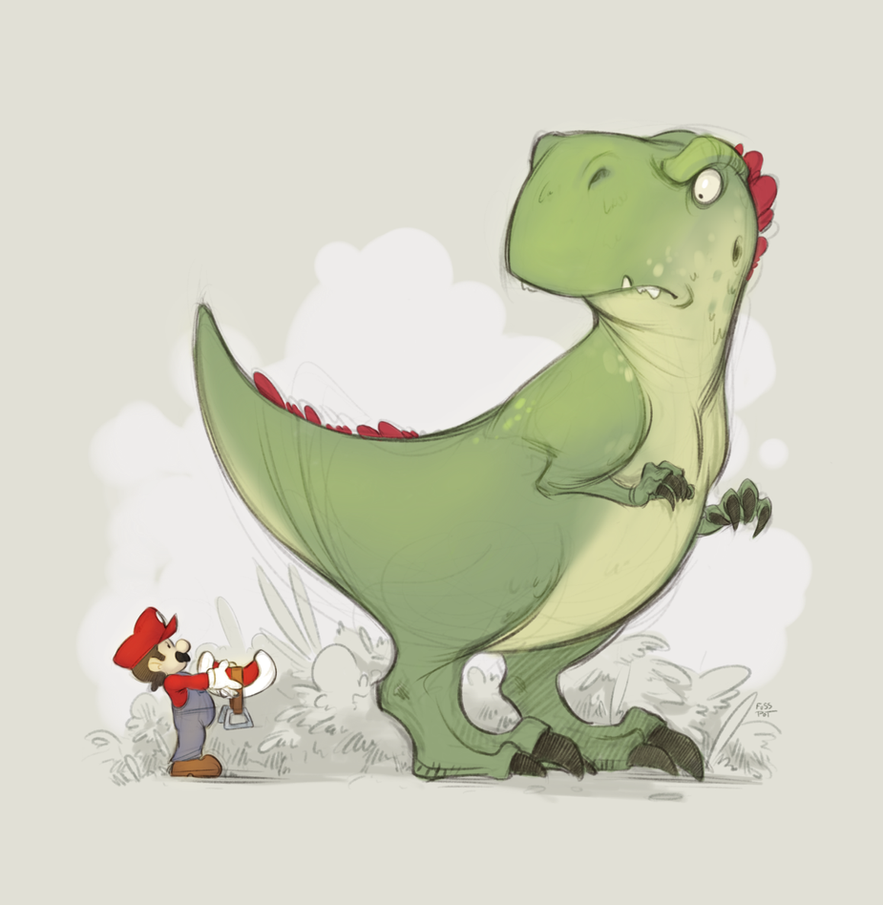 Mario, NO. by fusspot