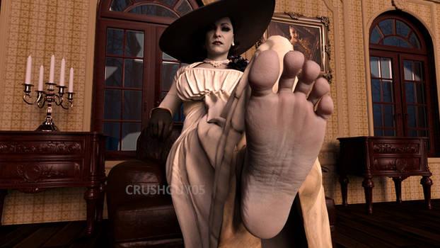 Lady Dimitrescu Feet