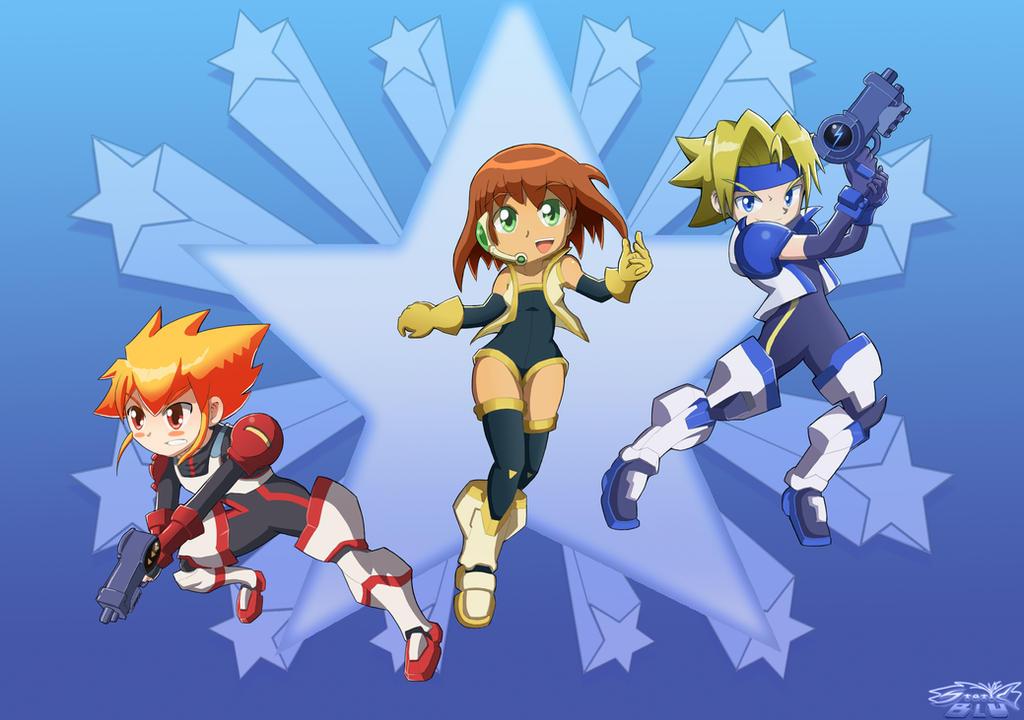 Team Gunstar by StaticBlu
