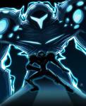 Evil's Glow by StaticBlu
