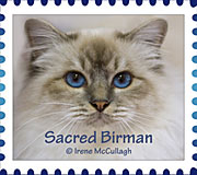 Sacred Birman Stamp by substar