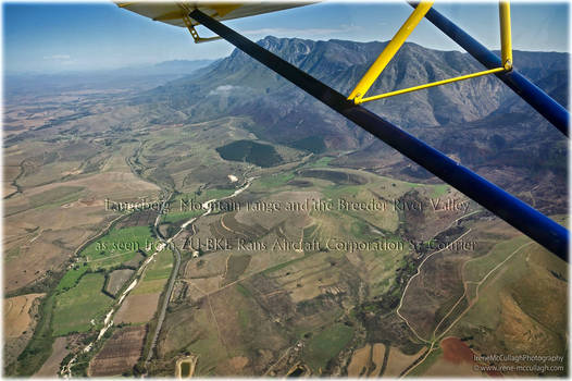Aerial View of Breede River