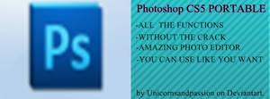 Photoshop CS5 Portable by Unicornsandpassion.