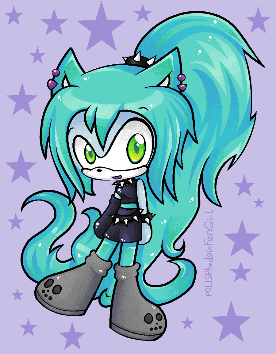 Ember MClain sonic style by POLISHhedgieFanGirl