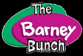 The Barney Bunch Logo  by SteveYesChloeNo