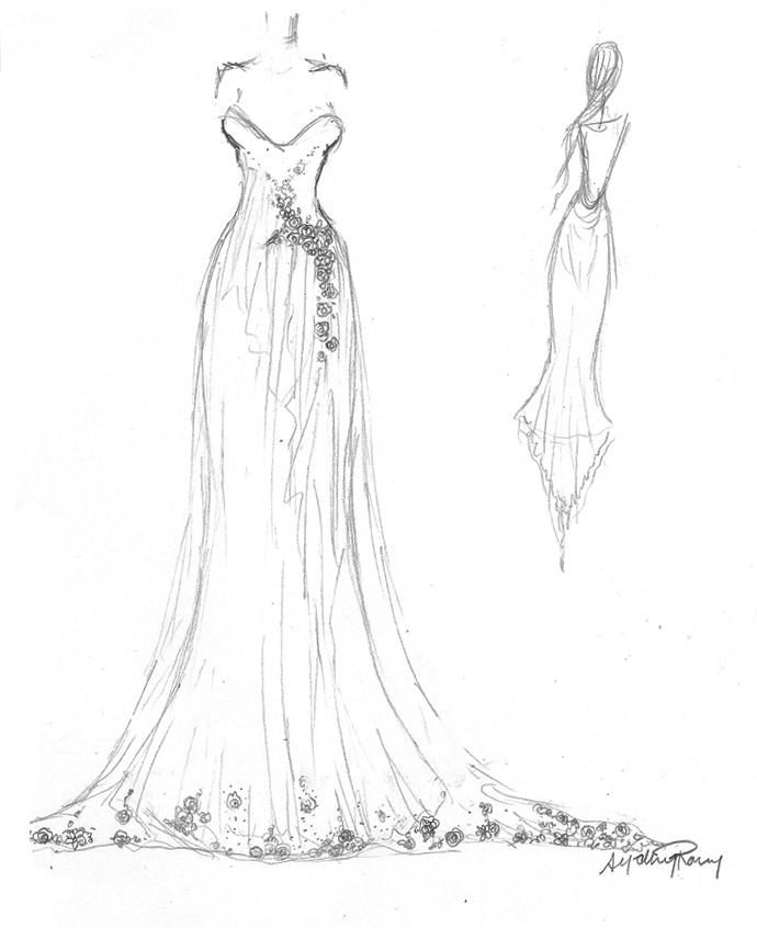 Challenge 002 Wedding Dress By Talk2hand On DeviantArt - Anime Wedding Dress