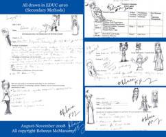 Secondary Methods Sketches by Kitsune-Fox17