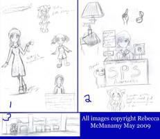 Seattle Drawings Two by Kitsune-Fox17