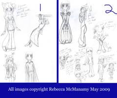 Seattle Drawings Three by Kitsune-Fox17