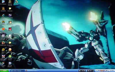 Trowa Mask desktop by Kitsune-Fox17
