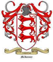 McInerney Family Crest by willsketch