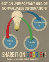 Anti Google+ Propaganda by willsketch