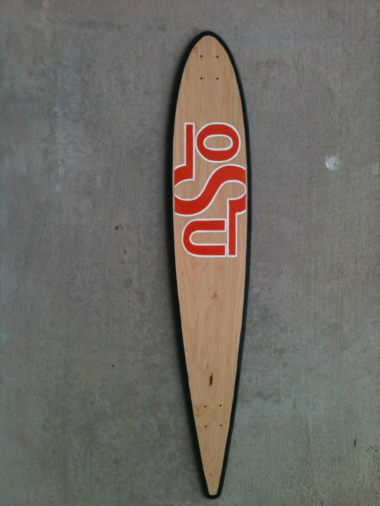 Long board deck top pre deck tape by willsketch on for Longest decking boards