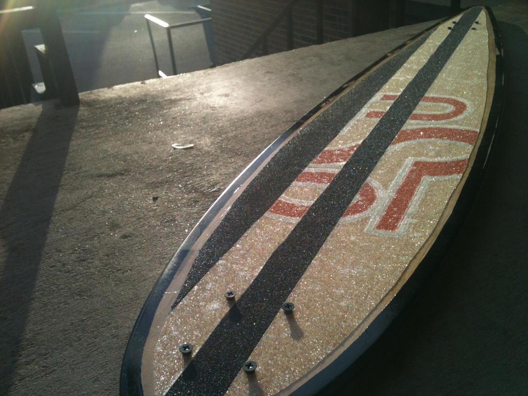 Long board deck by willsketch on deviantart for Longest decking boards
