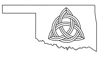 Oklahoma Celtic Knot Tattoo by willsketch