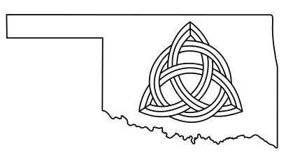 Oklahoma Celtic Knot Tattoo by willsketch