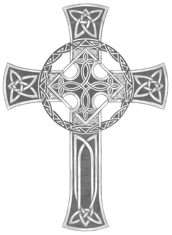 Celtic Cross Tattoo by willsketch