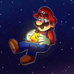 Mario Galaxy Fanart