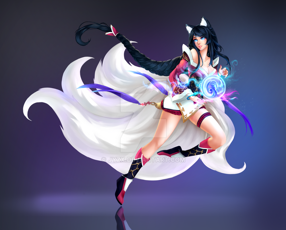 Ahri by jyzx