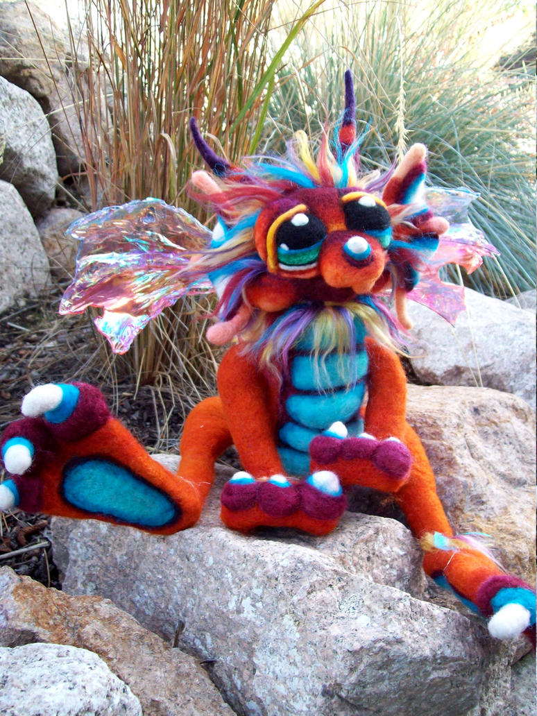 Copper Moons Dragon by Tanglewood-Thicket