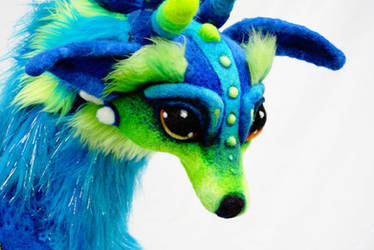 Wolf Dragon by Tanglewood-Thicket