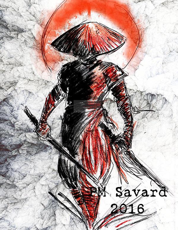 Samurai 1 by PMSAVARD