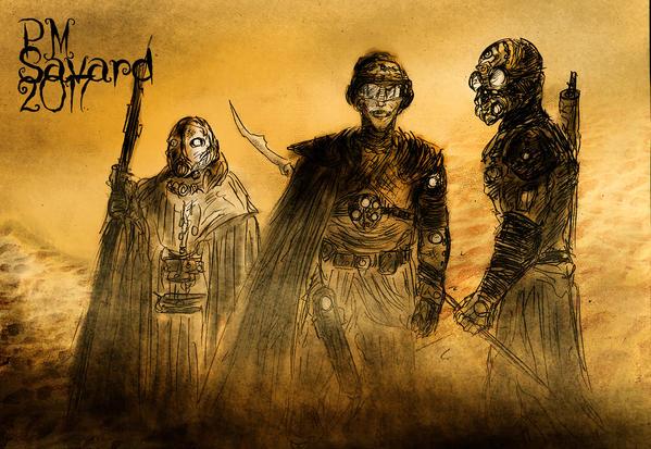 Mercenaires by PMSAVARD