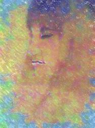 Profile of the geisha