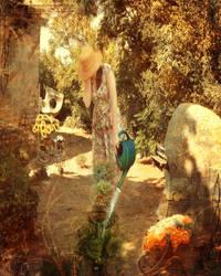 In her garden by StellaTheStarDesign