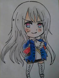 Chibi Fem Prussia by ShadowKitty99