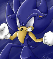 Dark Sonic by ahitosinea