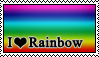 Stamp: Rainbow by RebelMyth