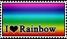 Stamp: Rainbow by RebelMyth
