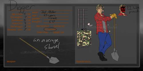 PROXY OC: Digger AKA Jed Miller